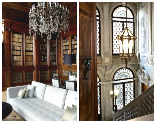 luxury library to get the taste of Venetian through words and literature