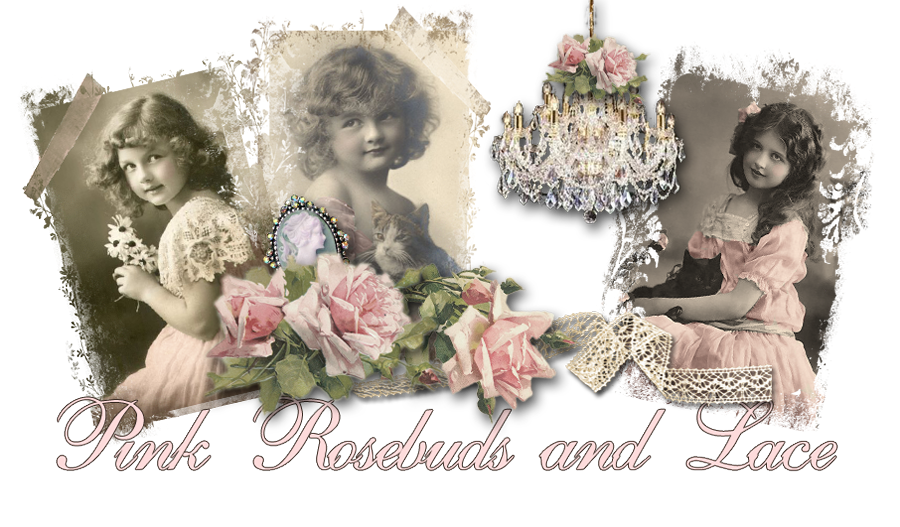 Pink Rosebuds and Lace