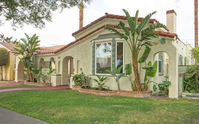 Living in leimert leimert park spanish style home for Spanish style homes for sale