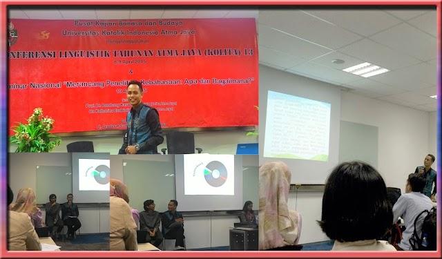 Konferensi Linguistik Tahunan Atma Jaya Ketiga Belas (KOLITA 13) 2015