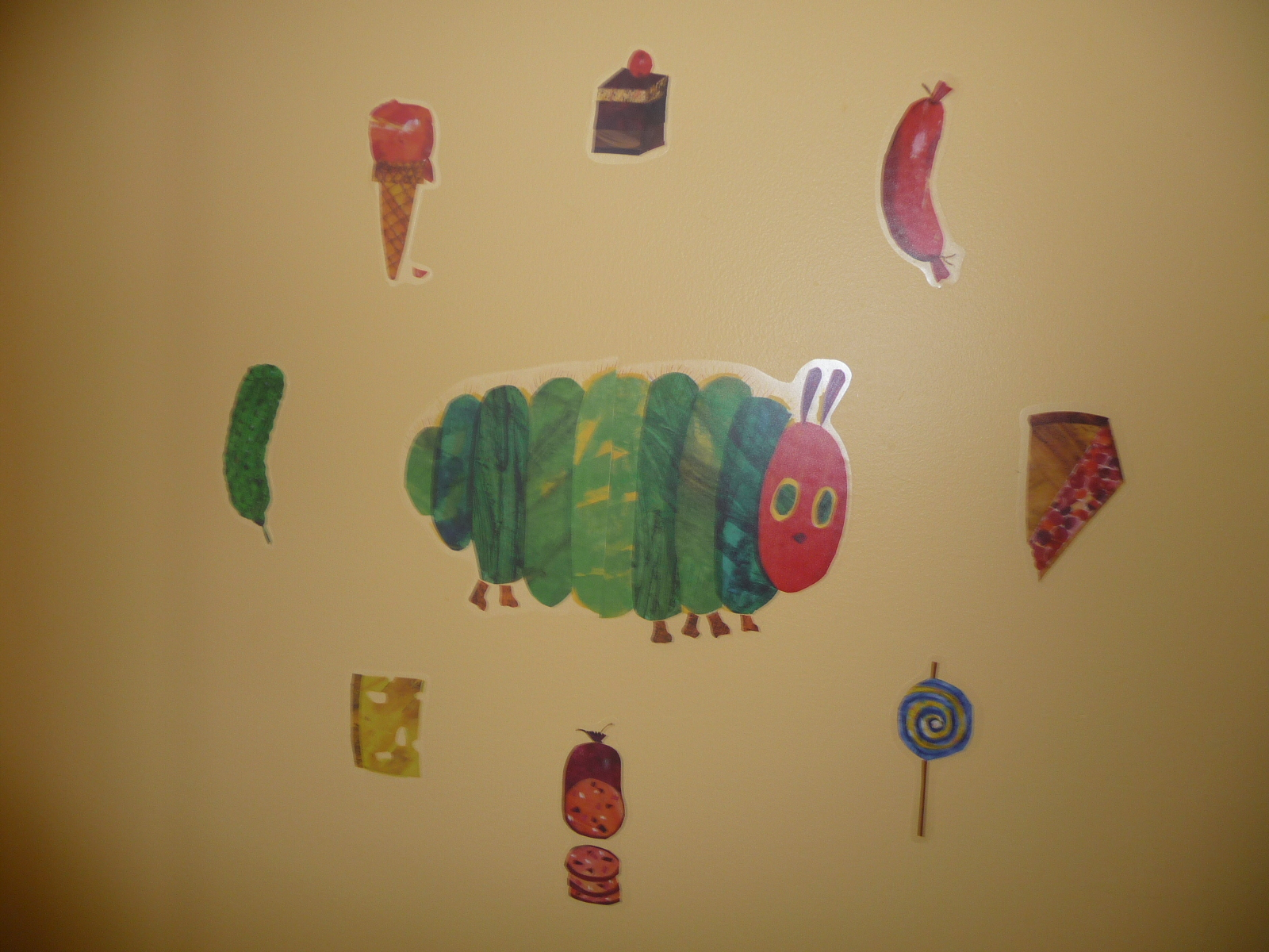 We Have Decorated The Wall Of His Room. Along With His Bedding, Pillow And  Futon Cover, Etc, It Has Become  Part 85