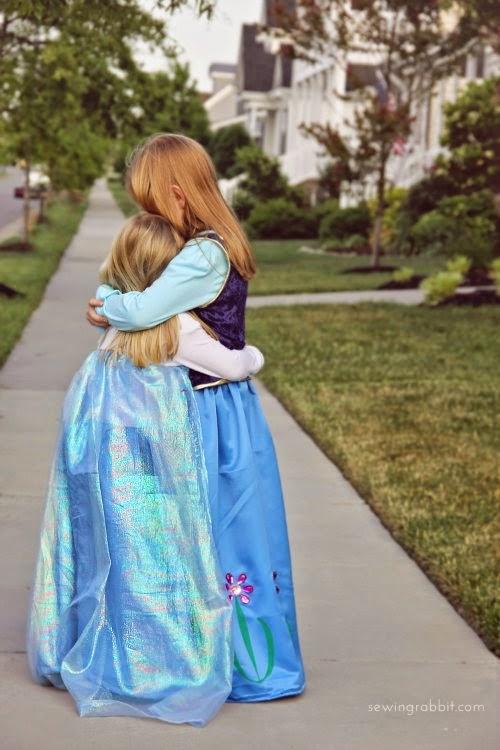 DIY disfraz Elsa de Frozen