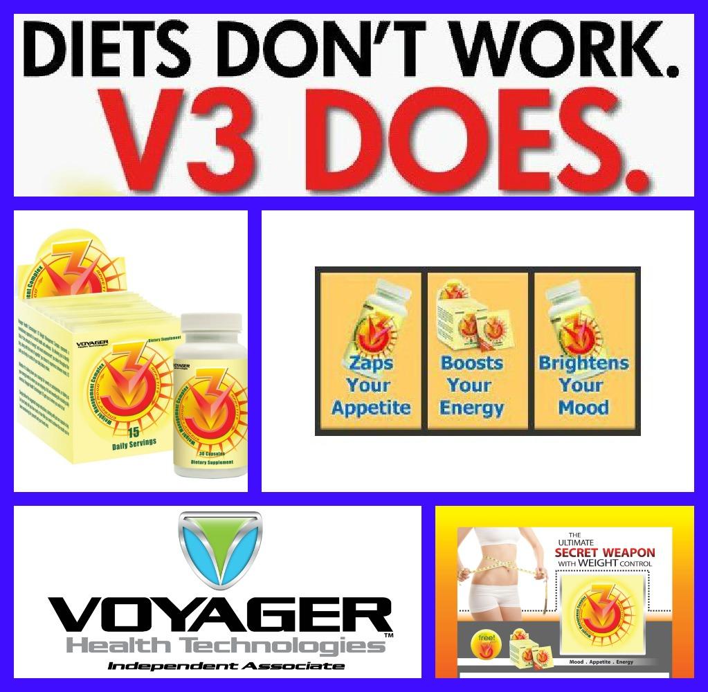 Voyager v3 diet supplement