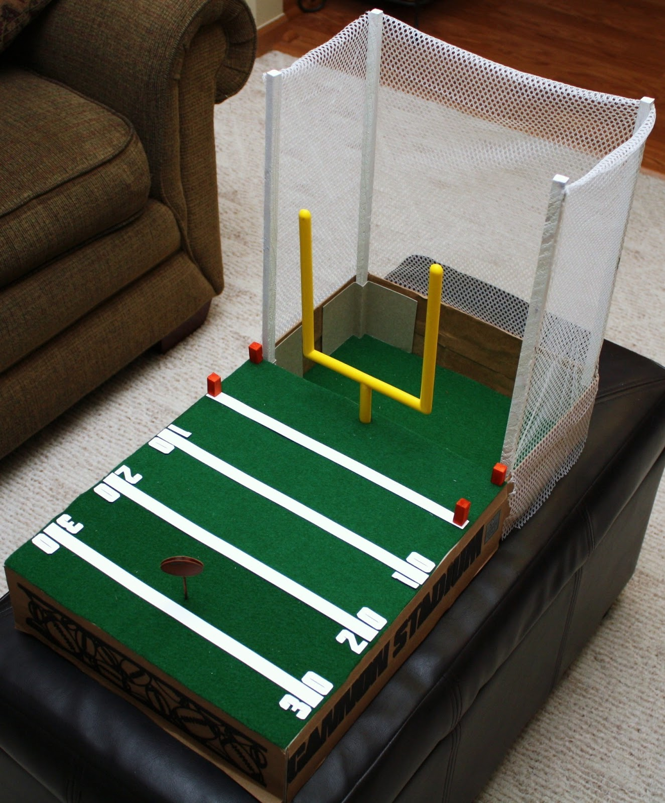 A Valentine Box! Football Field