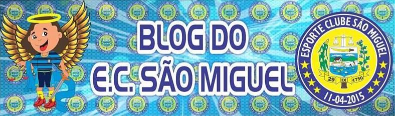 Blog do Esporte Clube São Miguel