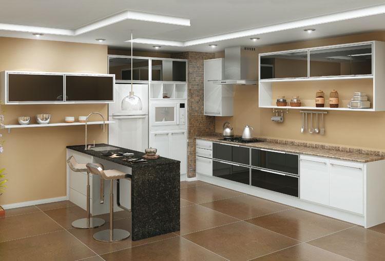 Construindo Minha Casa Clean Móveis Planejados e Sob Medida! 5 Dicas para a  # Armarios De Cozinha Planejados Sp