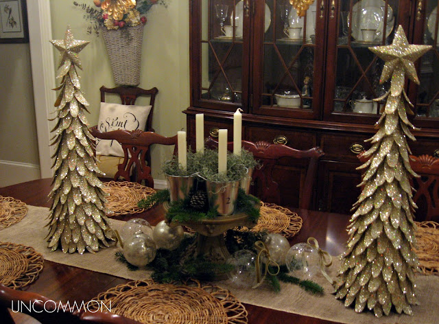advent tablescape