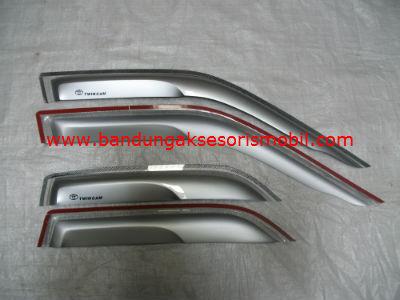 Talang Air Twin Cam Silver Mugen Depan Belakang