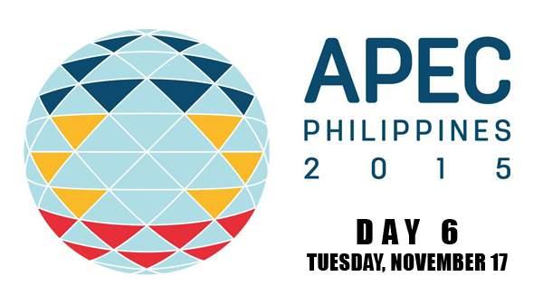 Image: APEC 2015 Day 6 - November 17