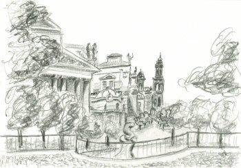 Corso di grafica e disegno per imparare a disegnare for Disegni facili di paesaggi