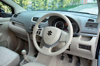 new maruti ertiga silver interior and seating