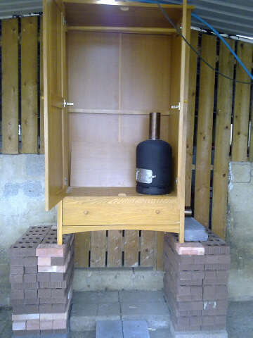 how to build a small cold smoker