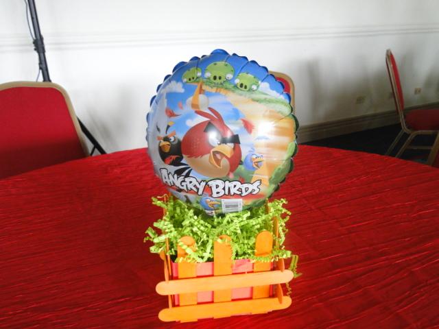 Fiestas Infantiles y familiares.: FIESTA ANGRY BIRDS