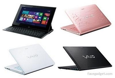 Daftar Harga Laptop Notebook Sony Vaio Bulan Juli 2013