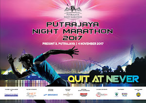 Putrajaya Night Marathon 2017 - 4 November 2017