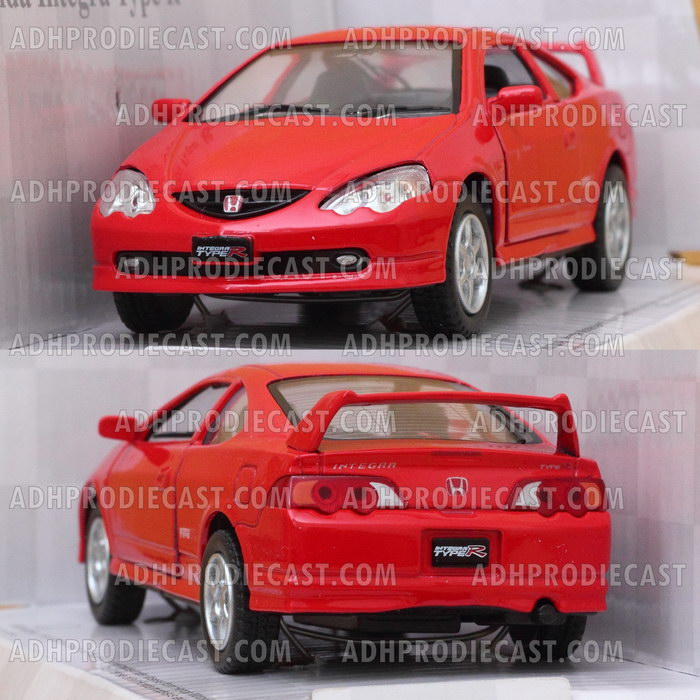 Miniatur Honda Integra Type R (Red-32K)