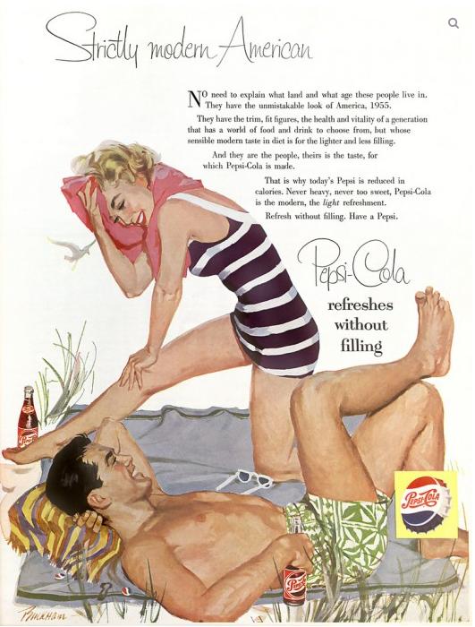Publicidades retro de Pepsi