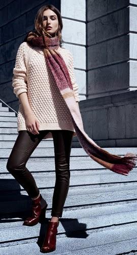 Moda de invierno H&M pantalones mujer