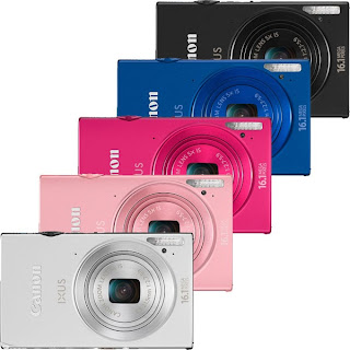 Colorful Canon IXUS 240 HS, touch screen LCD, transfer photo, photo editing