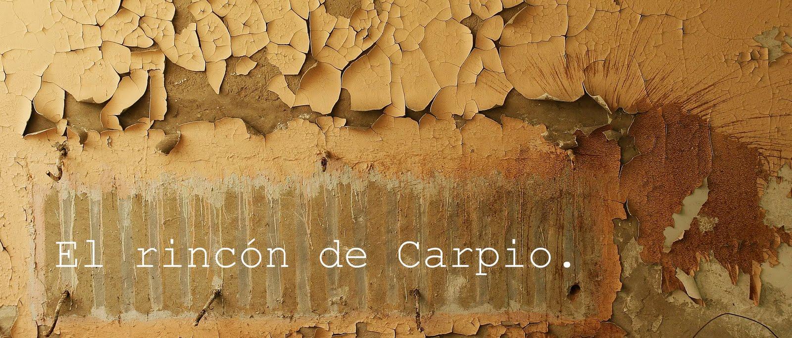 El rincón de Carpio.