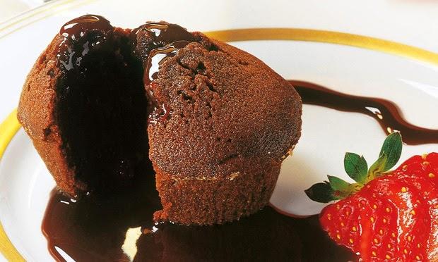 #receita de #bolinho de #chocolate #cremoso