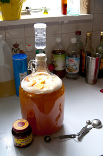 allgrains.blogspot.com - Quick Orange Mead - By definition brewing mead is a slow process and as many experienced folks know, you should try to avoid impatience when trying to craft something special. A quick mead recipe throws out those long held beliefs, trading them for a brew that is, not quite perfect but, certainly delicious, easy and accessible to everyone.