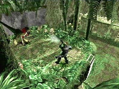 Game PS1 Dino Crisis 2