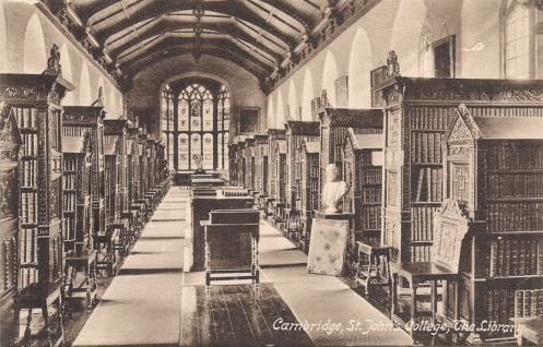 St John's College Library interior