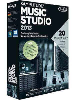 تحميل برنامج لتعديل وتظبيط الصوت 2013 MAGIX Samplitude Music Studio
