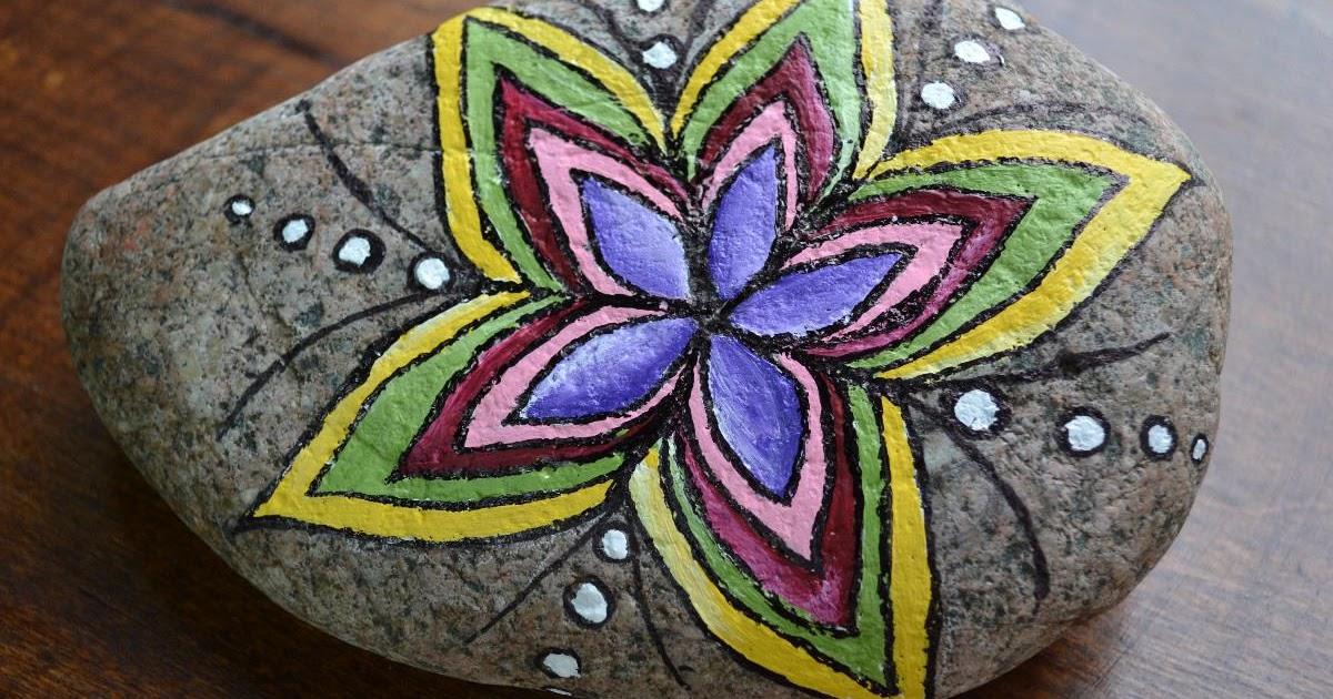 Almacen de decoraci n piedras pintadas for Decora tu jardin