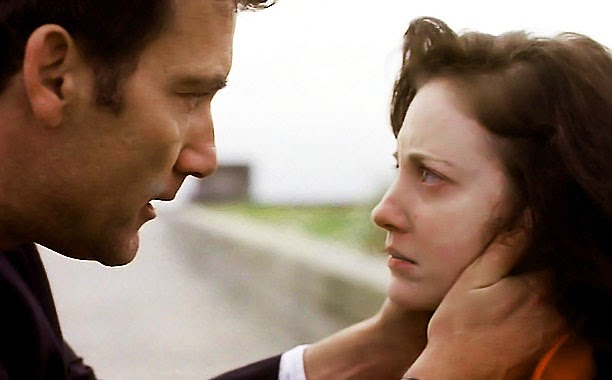 "Clive Owen and Andrea Riseborough in ""Shadow Dancer"""