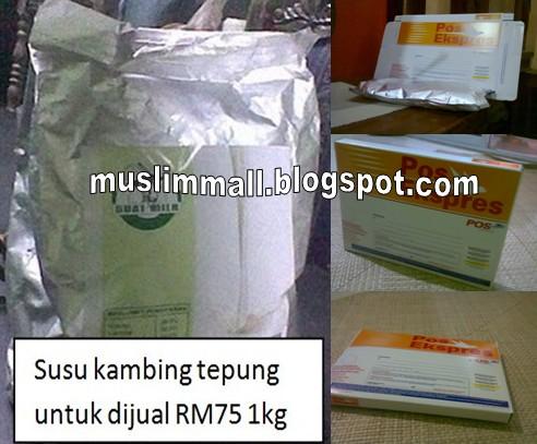 Susu Kambing Tepung Harga Pos RM5 Sahaja