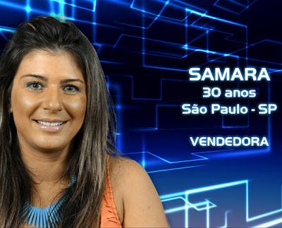 Lista de participantes do BBB 13 - Samara - São Paulo - Flagras - Fotos