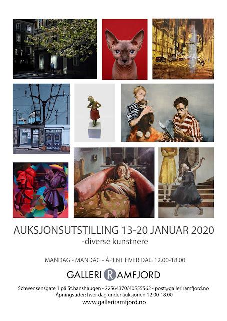 AUKSJONSUTSTILLING JANUAR 2020