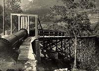conduccion agua fabrica asland clot del moro cemento tren guardiola castellar n'hug berga