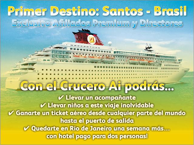 Amarillas Internet, Programa AIPromotion Crucero Brasil 2013