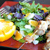 Easy Fresh Salad with Pork Skewers