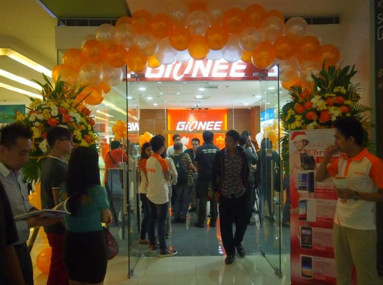Gionee Philippines Opened Its First Concept Store in Metro Manila
