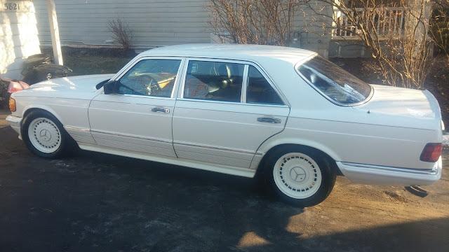 1983 mercedes w126 500 amg