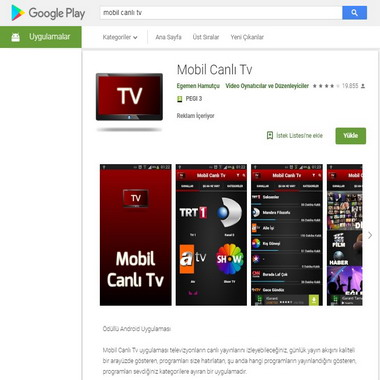 play google com - store - mobil canlı tv