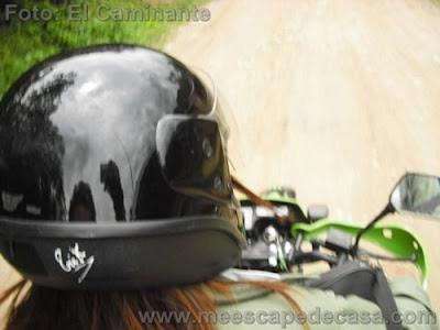 En motocicleta hacia la naciente del río Tioyacu (Rioja Perú)