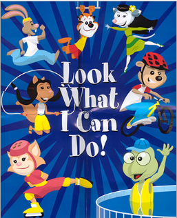Free Look What I Can Do! Coloring Book