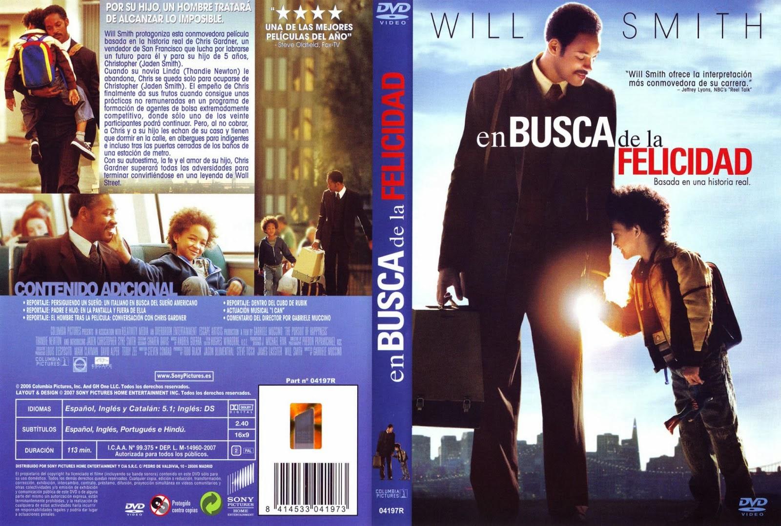 En Busca de la Felicidad DVD