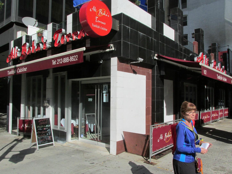 Midtown blogger manhattan valley follies ali baba terrace for Ali baba turkish cuisine nyc