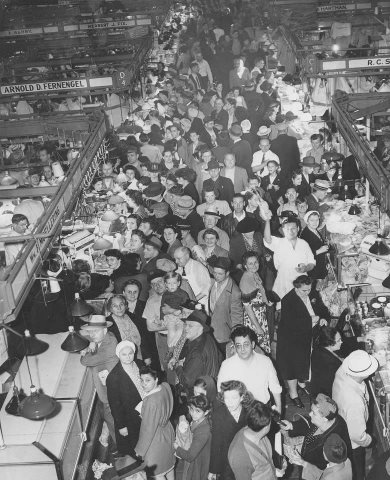West Side Market ~ 1946 #vintage #cleveland #1940s #ohio