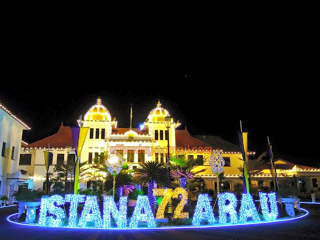 Pesta Lampu Istana Diraja Arau