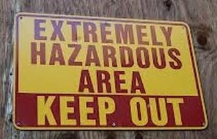 Extremely Hazardous Area