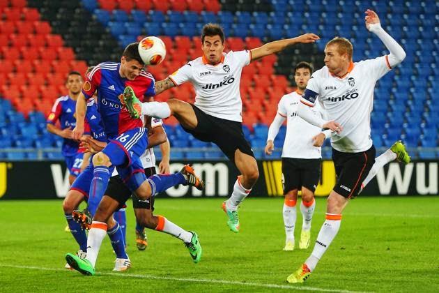 Prediksi Leg 2 Valencia vs FC Basel 11 April 2014