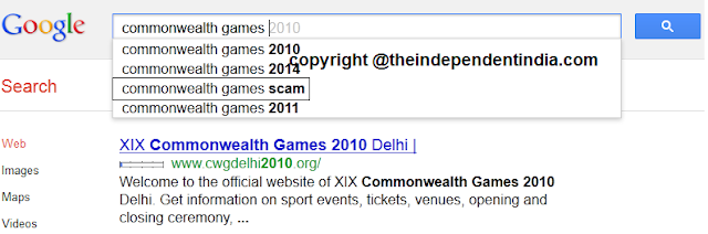 Common wealth games scam on google