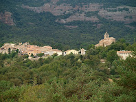 El poble de Vilanova de Sau i la seva església